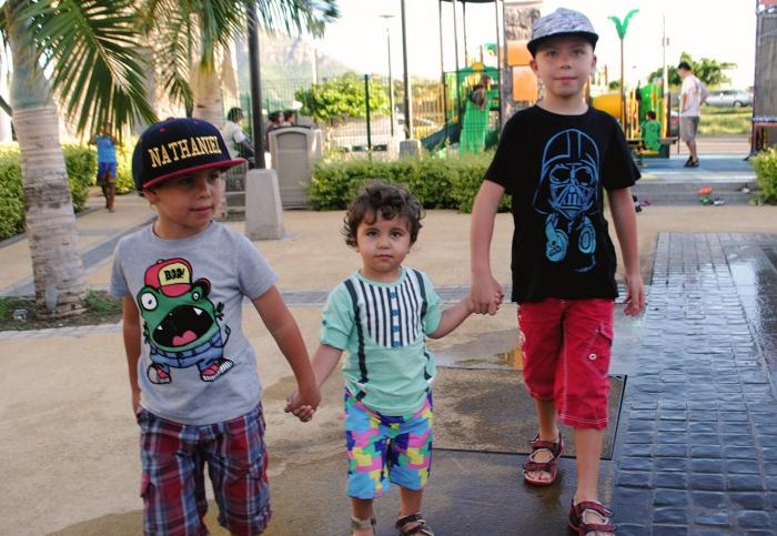 Barn på Mauritius