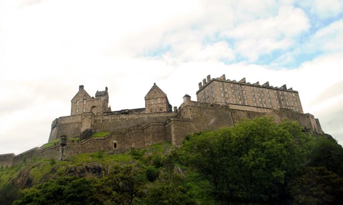 Edinburghs slott