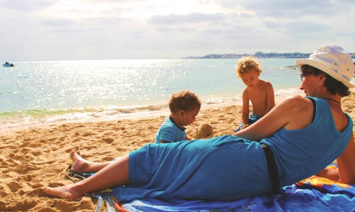 Stranden i Corralejo