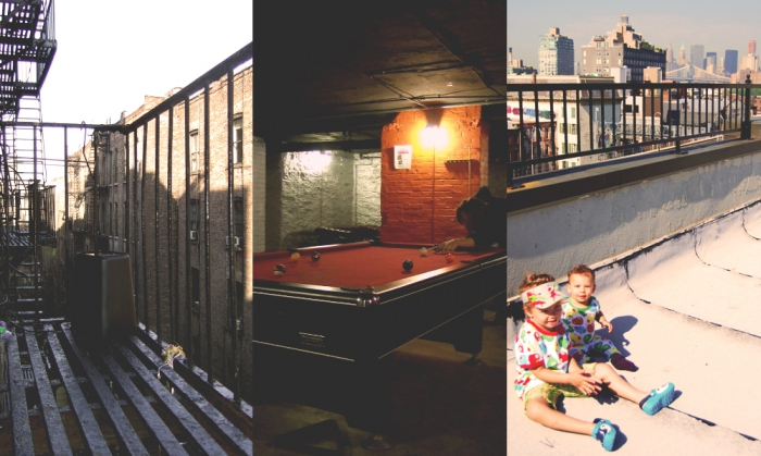 Manhattan och Brooklyn boende