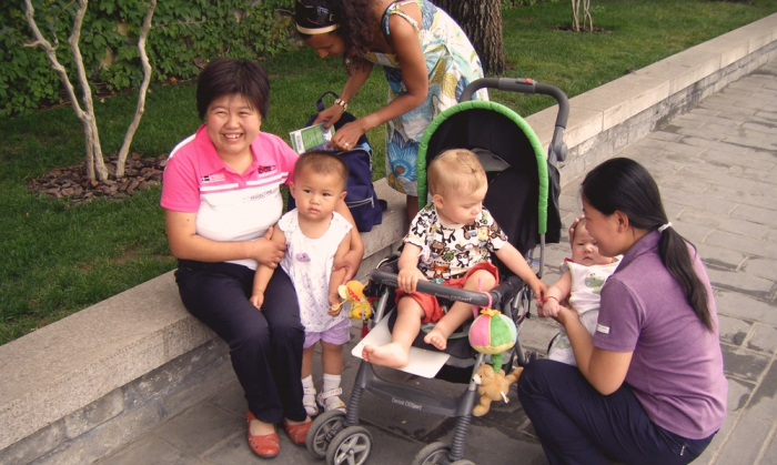Promenad i Peking
