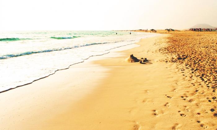 Sanddyner i Corralejo