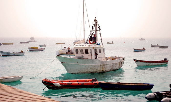 Hamnen i Santa Maria