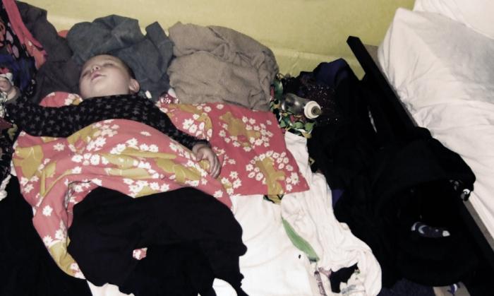 Sovandes på Candy Hostel