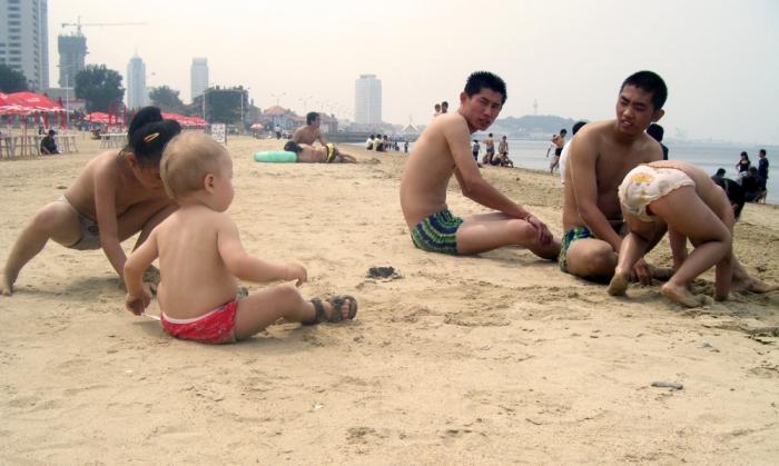Stranden i Yantai