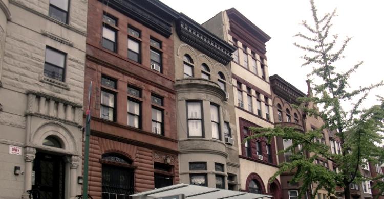 Bostadshus i New York